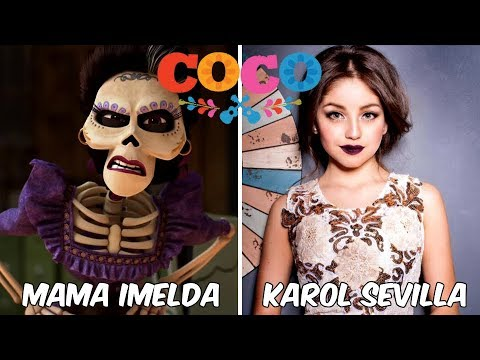 Behind the voices of COCO  Disney Pixar Animated