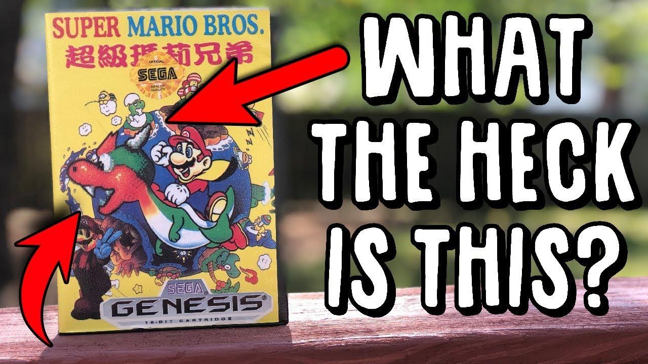 Insanely Weird & Funny Super Mario Bros. Bootleg Hack Game image