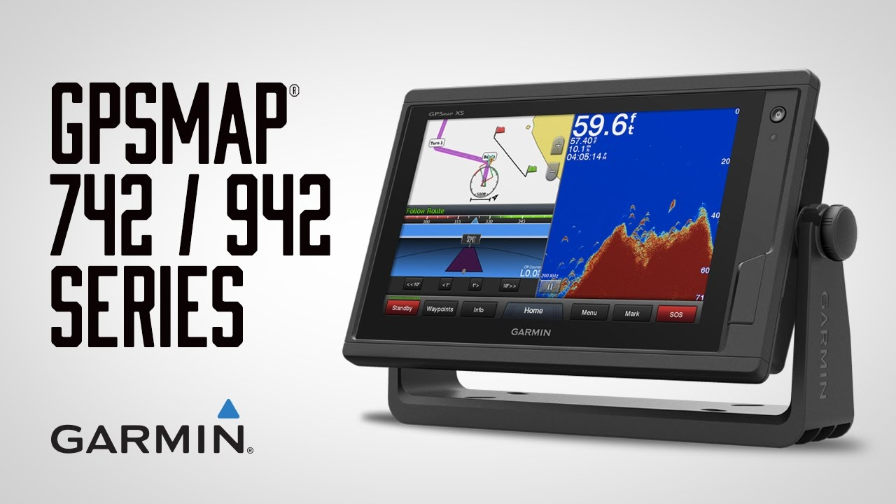 garmin marine: compact touchscreen chartplotter/sonar combos - youtube, Fish Finder