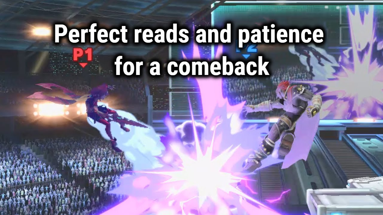 Perfect reads and patience for a comeback