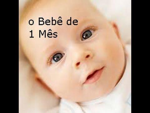 O Bebê De 1 Mês Youtube