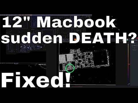 "12"" Macbook A1534 DEAD how to fix COMMON FAILURE!"