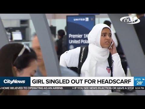 Мусульманку раздели на глазах у всего аэропорта