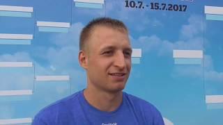 Pavel Nejedlý po prohře v 1. kole na turnaji Futures v Pardubicích