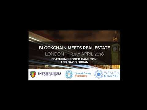 BLOCKCHAIN MEETS REAL ESTATE | April 2018 | DAVID TALKS ABOUT AI AND EMPLOYMENT