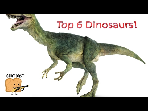 The 6 BEST Dinosaurs ever!!!