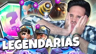 ALL OF THE LEGENDARY #1 CARDS | OPENING CHESTS SUPERMAGICOS CLASH ROYALE