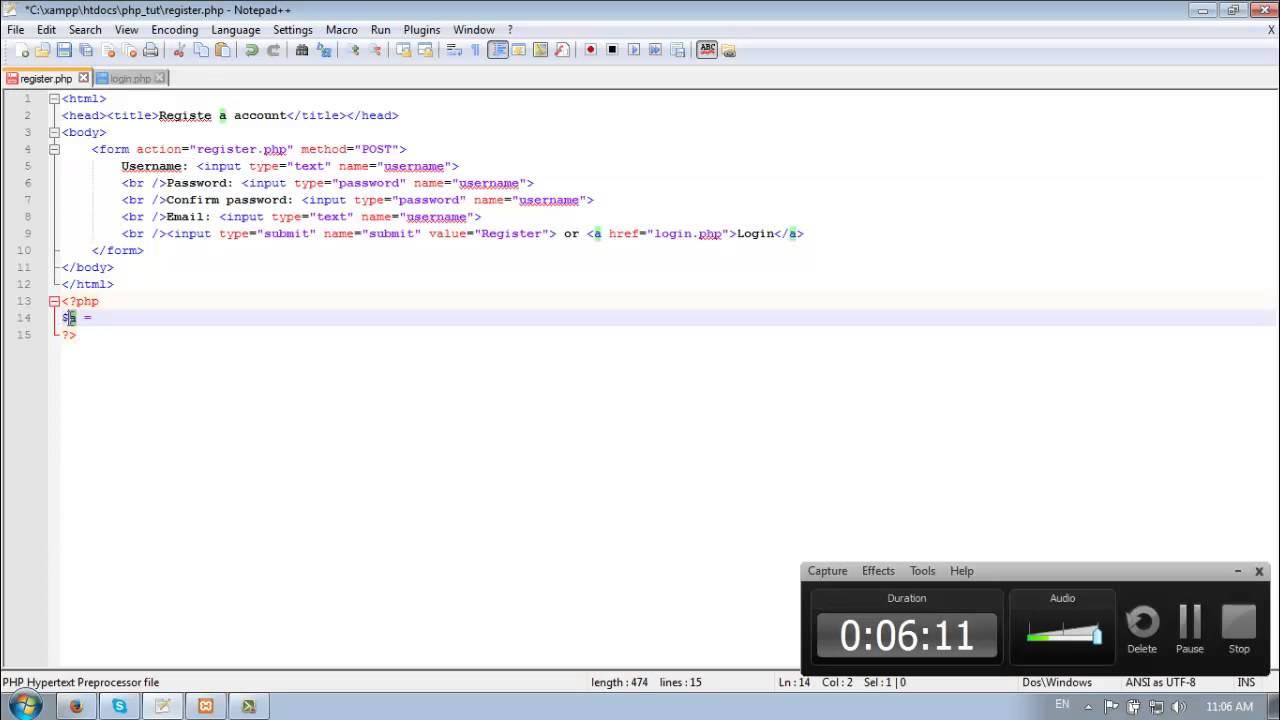 Forum PHP Tutorial