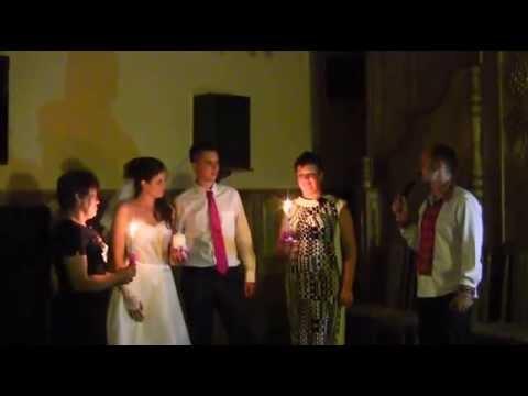 Свадебный обряд зажжения семейного очага