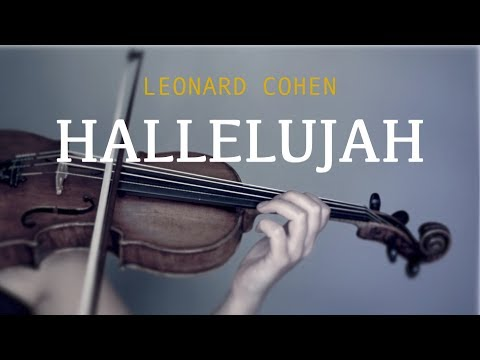 Hallelujah for violin and piano (COVER)