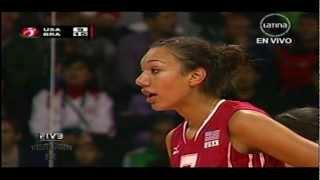 Brasil x USA 1set FIVB Women's Junior 2011