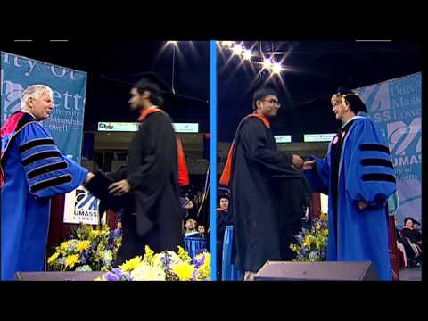 College of Engineering Masters Degrees - UMass Lowell 2013 Graduate Commencement (4:58)