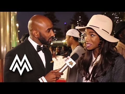 Little Simz | Talks nominees and being a female rapper! | Red Carpet