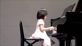 2011年7月の初めての発表会です。れな4歳。ピアノを習い始めて7ヶ月目。...