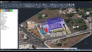 Sicurezza Cantiere: disegno CAD, redazione documenti e animazione modello 3D