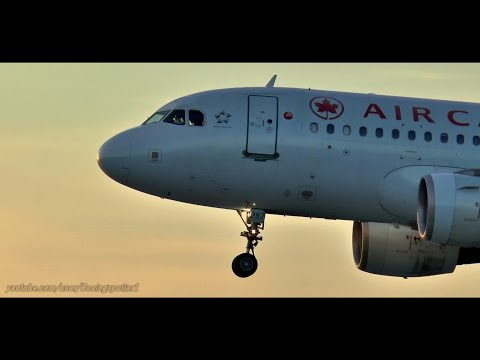 SUNSET Landings @ The Ottawa International Airport