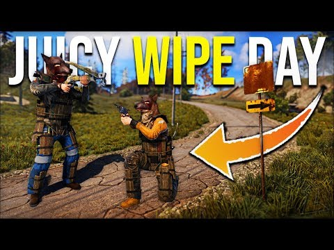 THE BEST START TO OUR NEW RUST WIPEDAY EASY LOOT FROM TRAP BASE - Rust Survival Gameplay | S15-E1 thumbnail