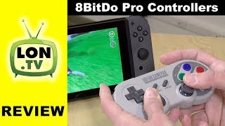 8bitdo SN30 Pro and SF30 Pro Controller Review - Works with Switch, PC, Android, etc.