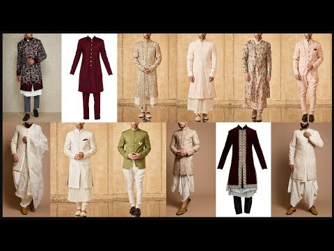 Party wear dresses for men and boys/Sherwani/Indo western dresses for men/Party wear sherwani - FSHC