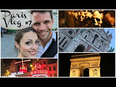 Paris Catacombs, Luxembourg Gardens, Sacre Couer, the Moulin Rouge & More!!
