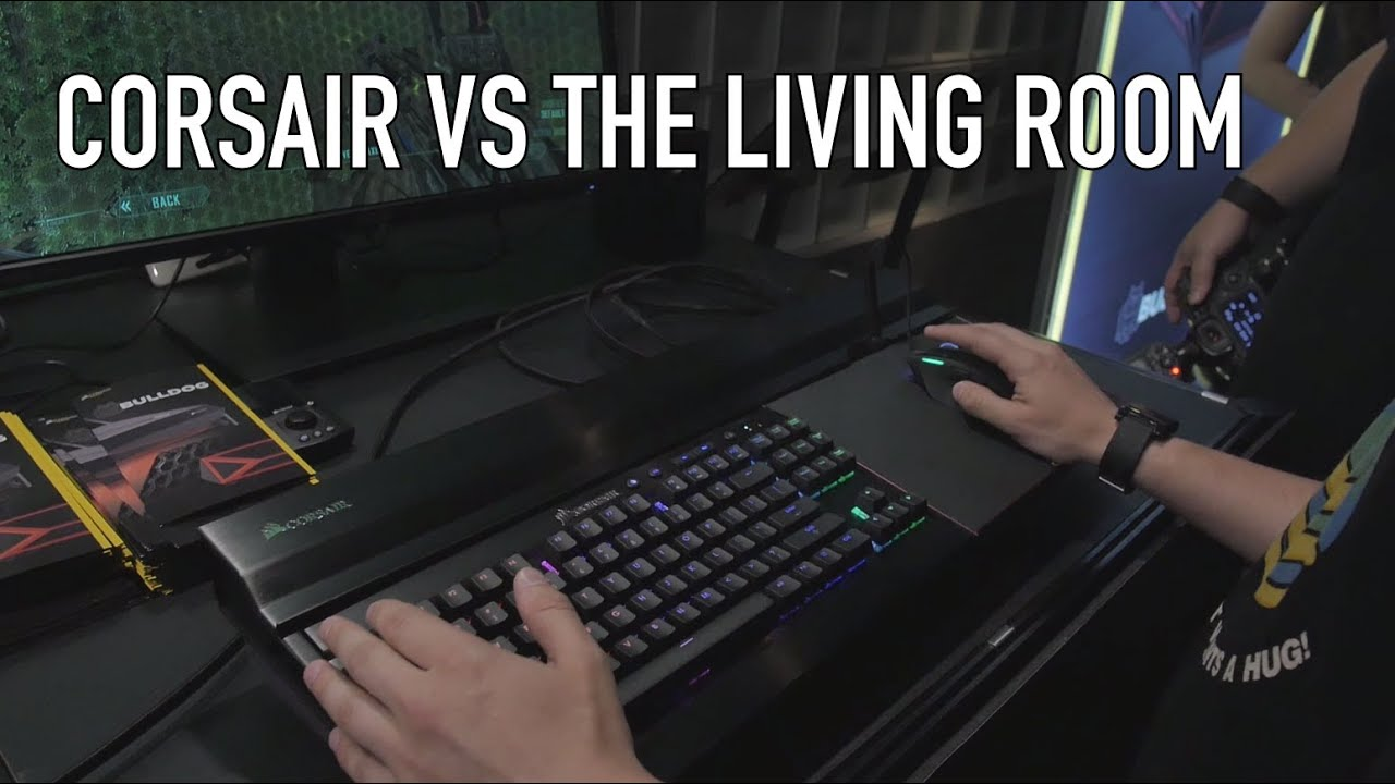 Corsair Bulldog Lapdog VS The Livingroom