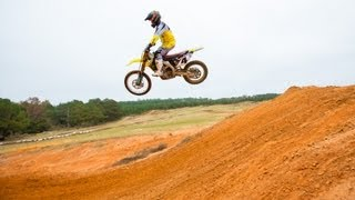 Check out Ricky Carmichael shredding some laps in Florida at his pr...
