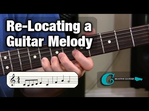 MUSIC READING - Level 4: Re-Locating a Guitar Melody