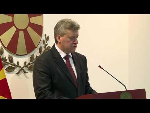 Обраќање на Претседателот Ѓорге Иванов 27 04 2017