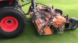 Bury Turfcare Bema Brush incredible clean up 2019