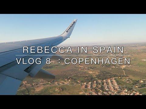 Rebecca in Spain || Vlog 8 : Copenhagen