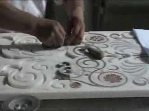 Custom Marble Inlay production  YouTube