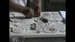 Custom Marble Inlay Production