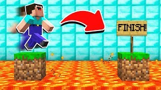 10 EASIEST MINECRAFT PARKOUR STAGES!