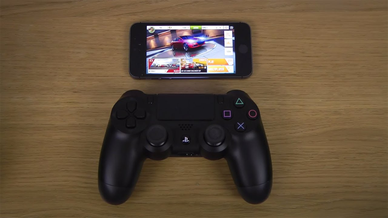 how to use a ps4 controller on iphone