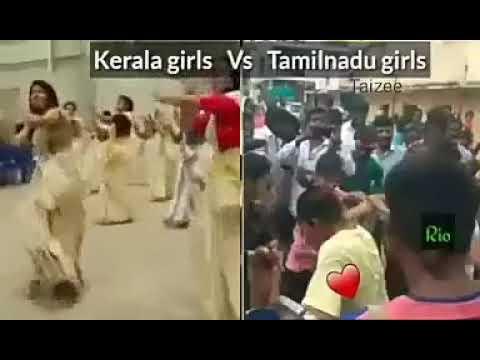 TamilNadu Girls vs Kerala Girls Dance
