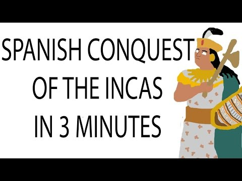 Spanish Conquest of the Inca Empire | 3 Minute History