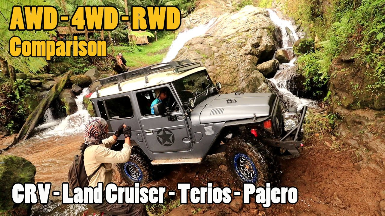 Honda CRV AWD - Land Cruiser - Terios Off Road