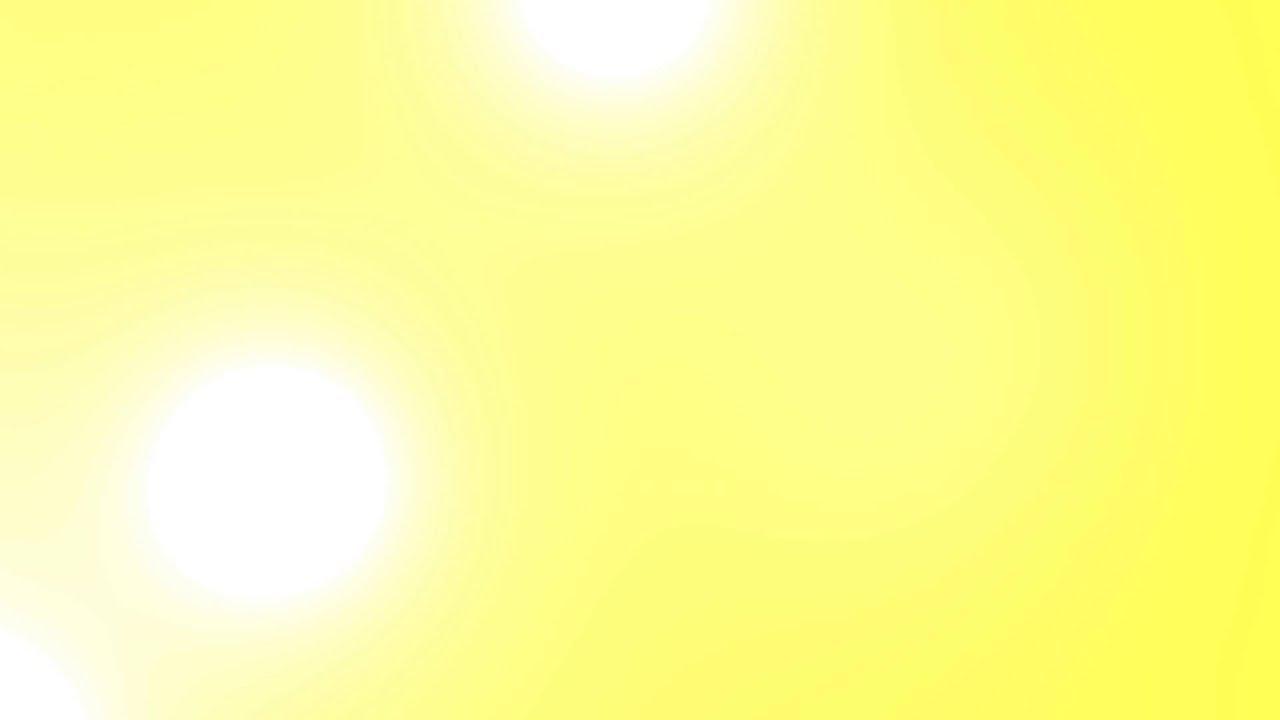 4k Uhd Yellow Rush Spots Light Leak Flood Animation Youtube