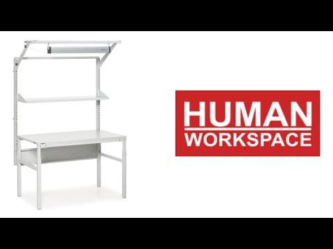 Human Workspace - De bekende Treston TP werktafels