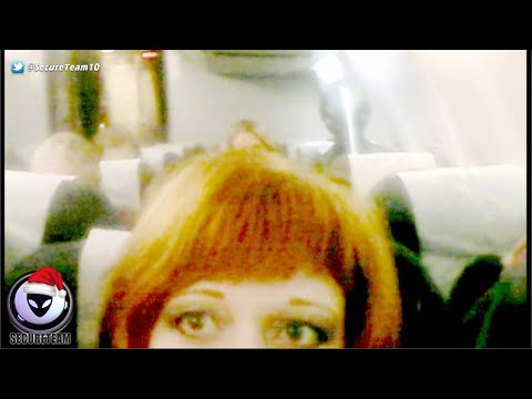 ALIEN Caught In Russian Woman's Selfie On Plane? 12/19/2015