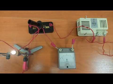 Л  Р  8 4 Сборка электрической цепи и измерение силы тока в её различных участках
