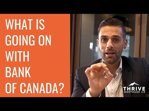 Bank Of Canada Changes Rates - Mortgage Rates & Updates - Thrive Mortgage Co Vancouver July 10 2019