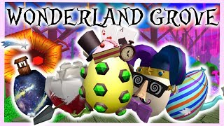 Roblox Egg Hunt 2018: Wonderland Grove How to Get All Eggs [FULL GUIDE]