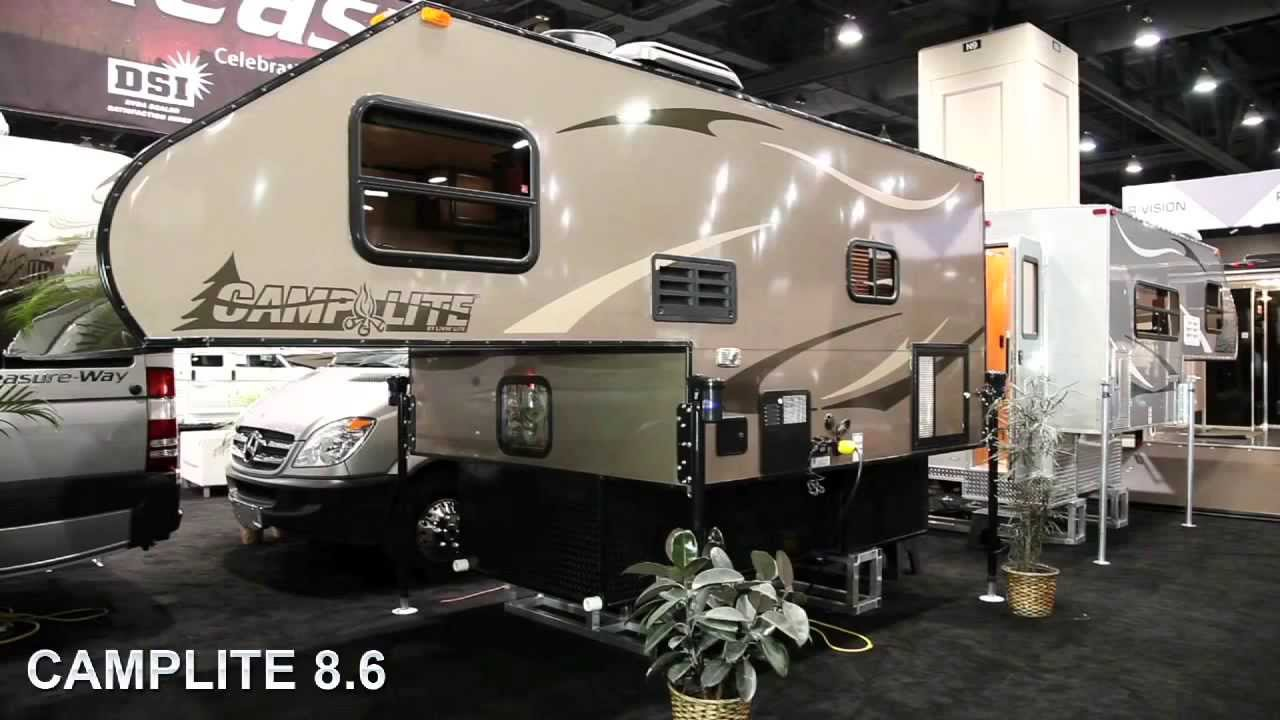 2013 Camplite All Aluminum Truck Campers by Livinlite