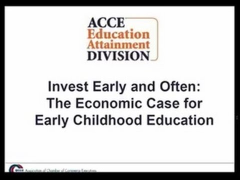 Invest Early and Often: The Economic Case for Early Childhood Education