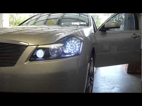 06 10 Infiniti M35 M45 Super Led Headlights By