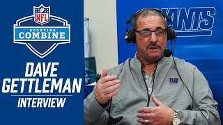 GM Dave Gettleman Discusses Draft Strategy at NFL Combine | New York Giants
