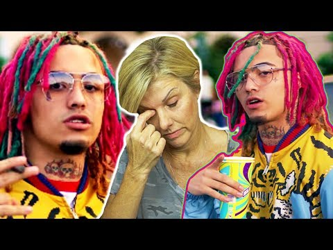 Mom REACTS to Lil Pump -