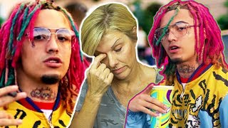 Mom REACTS to Lil Pump - 'Gucci G4ng' (Official Music Video)