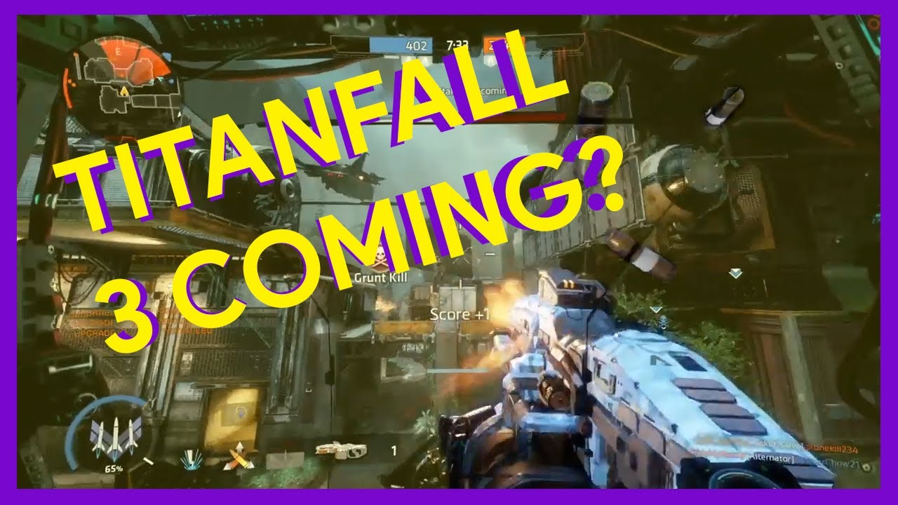 TITANFALL 3 IS COMING! - YouTube